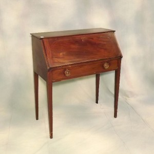 lot 526 mahogany dropfront secretary 34 x 17 x 38