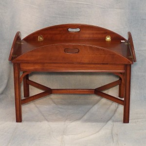 lot 45 virginia galleries cherry tray table